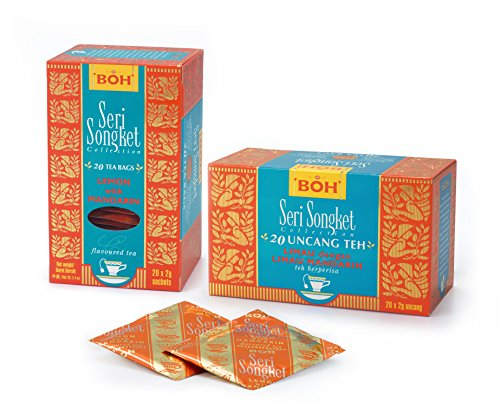 BOH Zitrone & Mandarine Tee, 20 Teebeutel