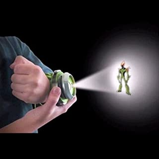 SKYZONAL Alien Force Omnitrix Illumintator Projector Watch Toy Gift for Child