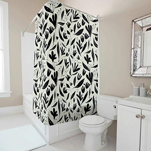 Toomjie Duschvorhänge Süßigkeit Himmel Printed Umweltfre&lich Vorhang B x H:120 x 200 cm Badewannenvorhang 100prozent Polyester white6 120x200cm