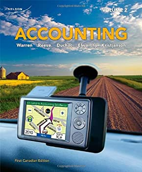 Accounting: Volume 2 0176501452 Book Cover