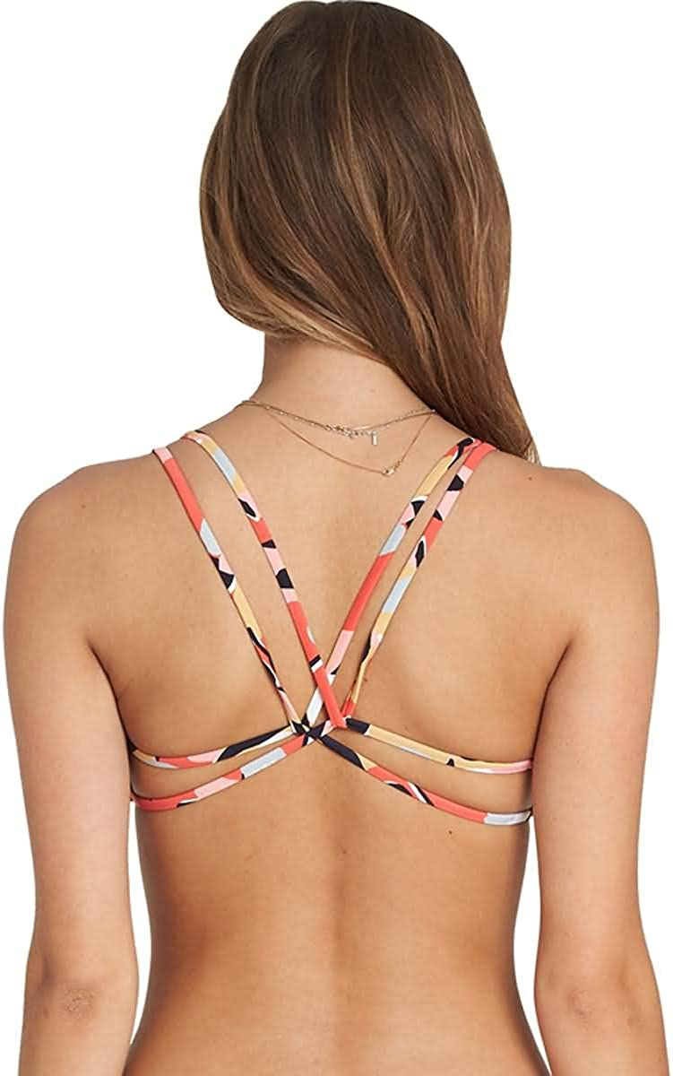Billabong Women's Fire Eyes Crossback Bikini Top
