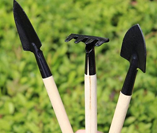 LJXWH Jardinage Trois Pièces Petite Pelle Pelle Plante Bêche En Pot Jardin Outils De Jardinage