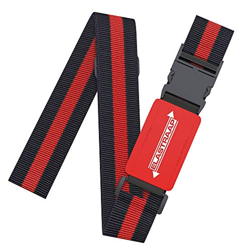 Luggage Straps ELASTRAAP for Suitcases, Non-Slip and Extra Security for Travel