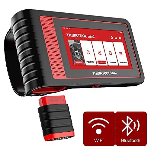 thinkcar 5.99 'Touch Screen ThinkTool Mini all System Diagnosis Lettore di Codici per Auto 2G/32G con 28 Servizi - Scanner dal Design modulare con Test di attuazione e codifica ECU