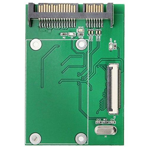 Unidad de Disco Duro ZIF SSD HDD de 40 Pines a 7 + 15 convertidor de Adaptador SATA de 22 Pines