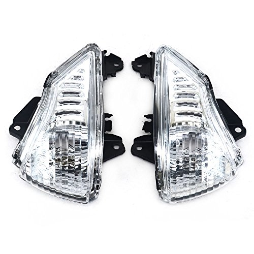 Luces intermitentes delanteras intermitentes de luz intermitente de la cubierta del indicador para Kawasaki ER6N ER6F 2009-2011