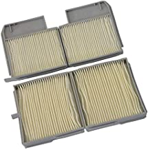 2PCS Car Cabin Filters for Toyota MR2 1.8L 1998-2007 Camry 2.2L 1996 1997 1998 1999 2000 2001 88880-33040