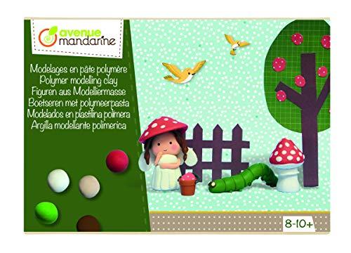 Avenue Mandarine CO165C Kreativset (mit Figuren aus Modelliermasse, einfache Anleitungen, die Kindern ermöglichen mit Spaß ihre Kreativität zu entwickeln und zu entfalten, geeignet ab 8 Jahren) 1 Pack