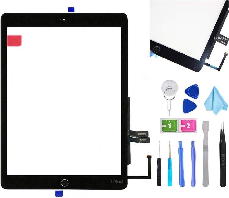 Black Digitizer Repair Kit for iPad 9.7