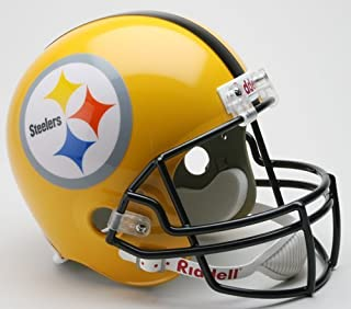 Riddell Steelers Gold 2007 Deluxe Replica Throwback Helmet - NFL Replica Helmets
