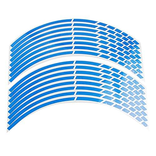 Pegatina Para Rueda Neumático Coche - 16 Pegatinas Reflectantes Para Neumáticos De Coche Logotipo De Ajuste De Coche En 3D Pegatina De Neumático Para Coche Universal Para Coche / Motocicleta