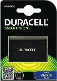 Duracell DRNBL5C - Batería de repuesto para Nokia BL-5C y BL-5CB (1000 mAh, 3.7 V), color negro