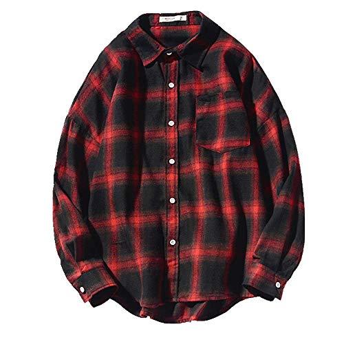 N\P Camisa casual de manga larga para hombre
