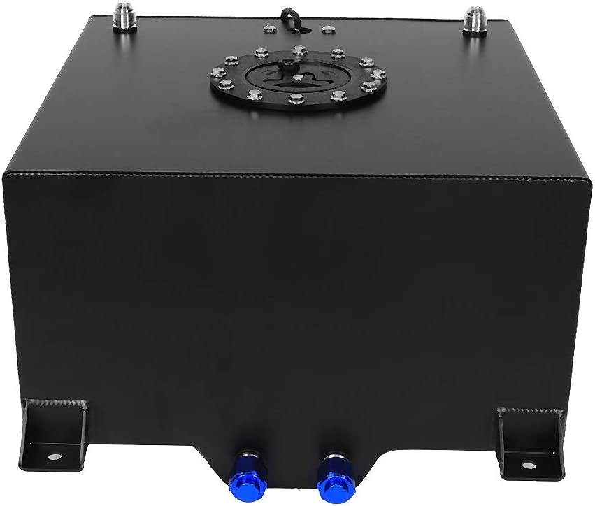 Gas Tank 10 Gallon Aluminum Level Alloy Opening large release sale Sende Free shipping anywhere in the nation Fuel Cell
