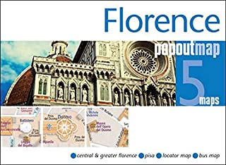 Florence PopOut Map: Handy pocket size pop up city map of Florence