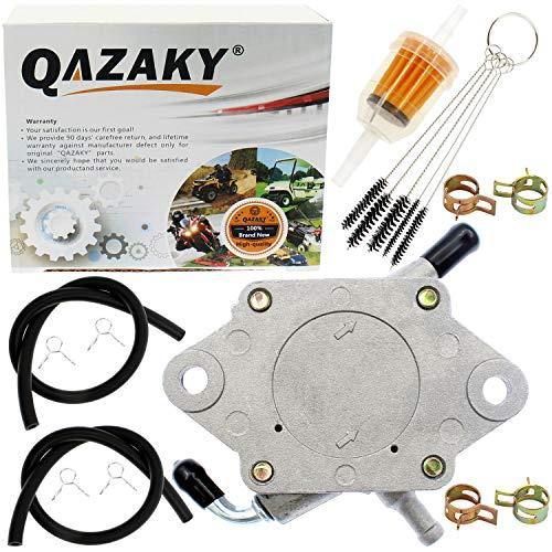 QAZAKY Fuel Pump Compatible with Kawasaki 290FE 350FE Club Car Golf Cart DS Precedent Yamaha G8 G11 G14 G16 G20 G22 4-Cycle Engine 1014523 S5136 FP002 JN6-F4410-00 JN6F441000 JF2-24410-20 JF22441020