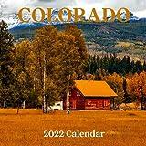 Colorado 2022 Calendar: Colorado 2022 Wall Calendar, Office Calendar, 18 Months.