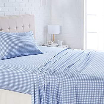 AmazonBasics Lightweight Super Soft Easy Care Microfiber Bed Sheet Set