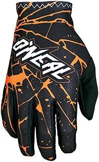 O'Neal Matrix Handschuhe Enigma Schwarz Orange MX MTB DH Motocross Enduro Offroad, 0388M 3, Größe 2XL