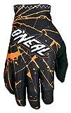 O'Neal Matrix Handschuhe Enigma Schwarz Orange MX MTB DH Motocross Enduro Offroad, 0388M-3, Größe...