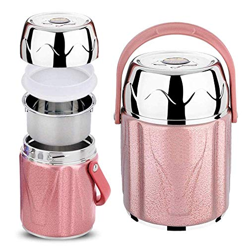 Bento Box Lunch BoxThermal Insulated Lunch Jar Mit Isolierbeutel Food Box Hot Food Work School Flasche Edelstahl Lunch Container