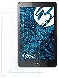 Bruni Schutzfolie kompatibel mit Acer Iconia One 8 B1-820 Folie, glasklare Bildschirmschutzfolie (2X)