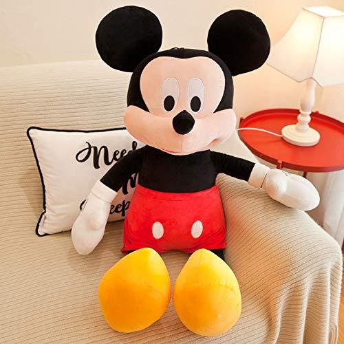 WYSTLDR Muñeco de Peluche de Mickey Minnie, Almohadas de muñeco de Trapo para Parejas de Mickey Mouse, Regalos de cumpleaños para Amigos y Novias, muñeco de San Valentín Mickey 75CM