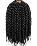 Mirras Mirror 6Packs 12 Havana Twist Crochet Hair Mambo Twist Senegalese Crochet Braids Braiding Hair 75gram/12 roots/Pack