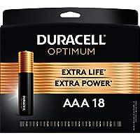18-Count Duracell Optimum Alkaline AAA Batteries