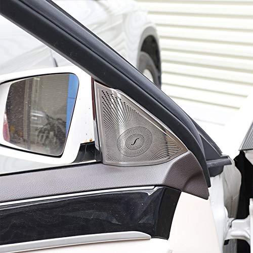 XHULIWQ 2 Stücke Car Styling Autotür Lautsprecher Abdeckung Car Audio Stereo Schutz Aufkleber Innenverkleidung, Für Mercedes Benz W212 E klasse