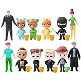 12 Pcs Baby Boss Birthday Party Cake Topper,Baby Boss Theme Party Decoration
