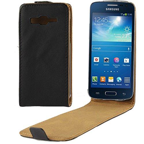 Schützen Sie Ihr Mobiltelefon Vertikale Flip Leder Magnetische Schnalle Fall für Samsung Galaxy Express 2 / G3815 für Samsung Handy