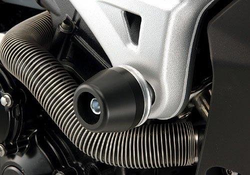 アグラス(AGRAS) レーシングスライダー フレームタイプ ロゴ有 ジュラコン:ブラック GSR600 GSR400 342-387-000BX