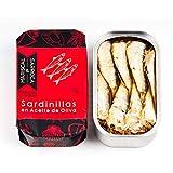 Sardinillas en aceite de oliva 120g 15/20 - Pack de 4 latas