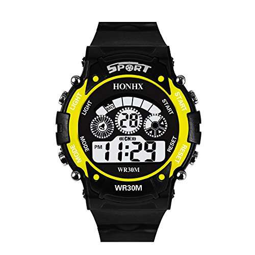 Reloj de hombre, reloj de pulsera analógico para hombre con fecha de alarma de cuarzo analógico Digital LED para hombre de moda