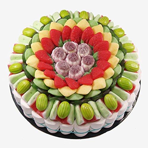 Tarta de golosinas -Fruit 27 cm