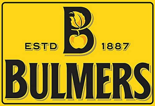 Detroit Mall DYTrade Bulmers Challenge the lowest price of Japan Cider Label Logo Signs Look Vintage Custom Metal