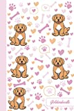 Goldendoodle: Dog Notebook | Cute, Funny Diary | (Goldendoodle Dogs Lovers) Journal | 6x9 | 110 Pages | Blank Lined Journal For Gift