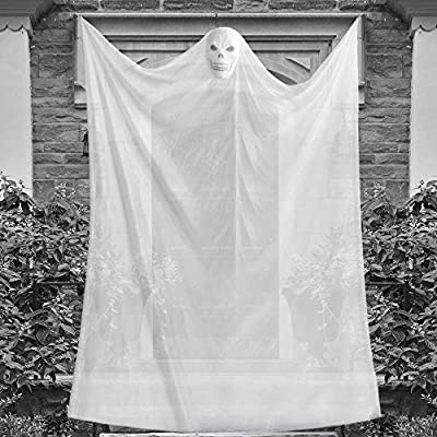 Amazon - Save 50%: Eaaglo Halloween Decorations, 10ft Halloween Ghost Hangin…