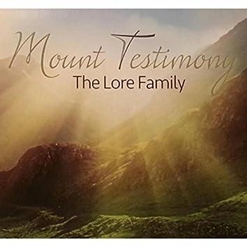 Mount Testimony