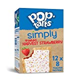 Simply Pop-Tarts, Toaster Pastries, Frosted Harvest Strawberry, Non-GMO Project Verified, 10.125lb Case (48 Count)