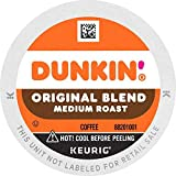Dunkin' Original Blend Medium Roast Coffee, 176 K Cups for Keurig Coffee Makers (Packaging May Vary)-SET OF 4