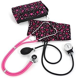 Prestige Medical Aneroid Sphygmomanometer/Sprague-Rappaport Kit, Ribbons and Hearts Black