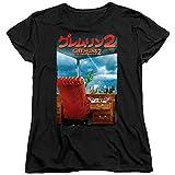 Gremlins 2 G2 Poster Women's T Shirt, Black, 2X-Large