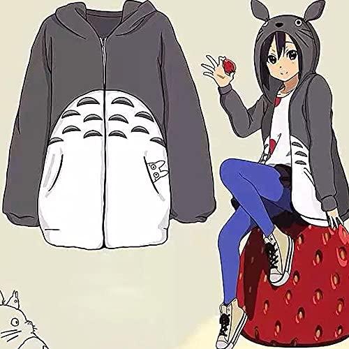 AMZOLNE Riman Cosplay Disfraz Pokémon Pokemon GO Pokémon Pijamas Mi Vecino Totoro suéter-Mi Vecino Totoro_XXL
