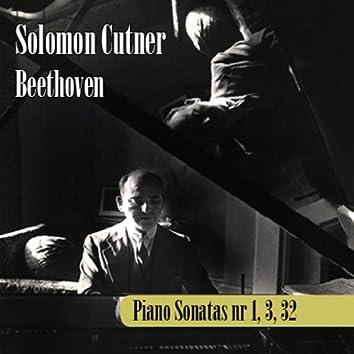 Ludwig Van Beethoven : Sonatas por Solomon 1, 3 and 32