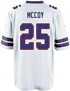 Football Gifts 5XL Jerseys LeSean_McCoy_#25 Jersey 100th Season White for Men/Women/Youth