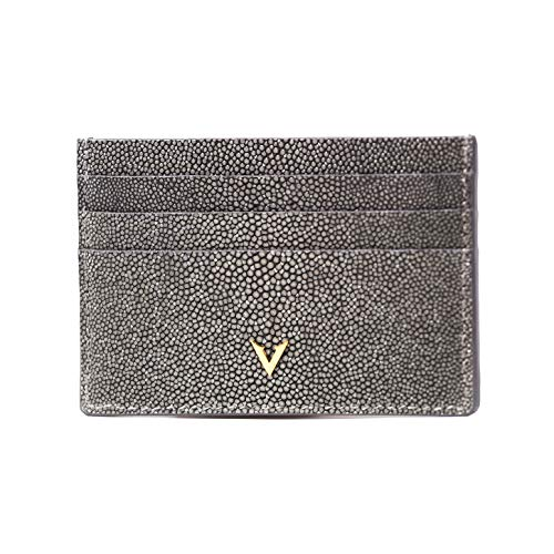 Stingray - Cartera para tarjetas de crédito, 6 ranuras para tarjetas, diseño delgado por Vascari of London