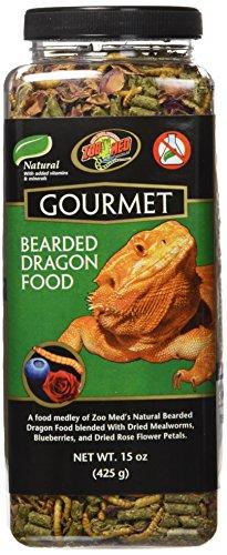 Zoomed Gourmet Bearded Dragon Food - natürliches Hauptfutter für Bartagamen, 1er Pack (1 x 383 g)