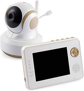 トリビュート ベビーモニター ワイヤレスベビーカメラ オートトラッキング機能/カメラ遠隔操作/2way/ボイスオン/子守唄/充電池 BM-LT02